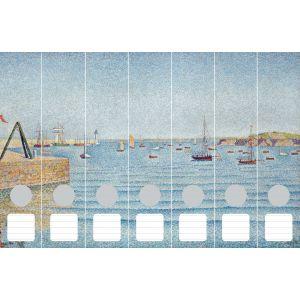 Cedon Ordnerrücken Signac, Hafen von Portrieux