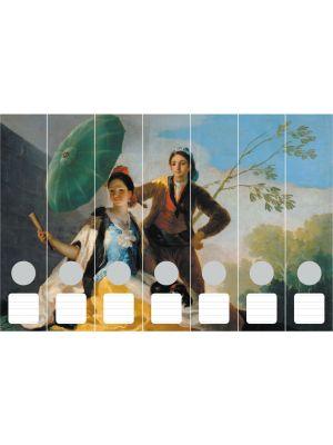Cedon Ordnerrücken Goya, Der Sonnenschirm